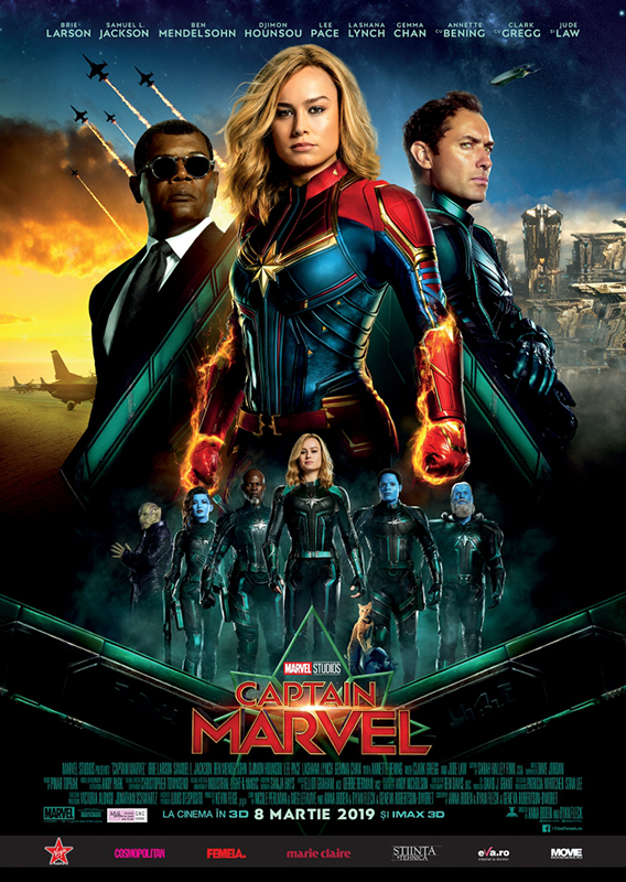 afis poster captain marvel